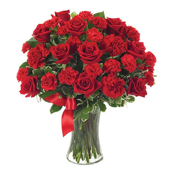 """You're Forever in my Heart"" flower bouquet (BF116-11)"